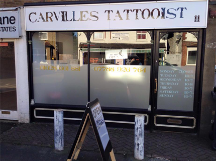 Carville's Tattooist