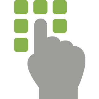 access control homeowner icon